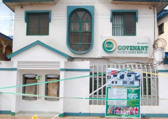 Covenant MicroFinance Bank Opens New Branch at Sango.